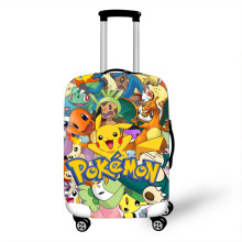 18-32 Inch Pokemon Haunter Eevee Elastic Luggage Protective Cover Trolley Suitcase Dust Bag Case Cartoon Travel Accessories(China)