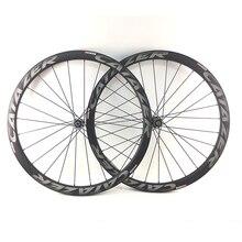 Catazer Full Carbon 700C 23/25mm Wide 38mm 50mm 60mm 88mm Novatec D411 D412 Hub Straight Pull Hub Road Bike Carbon Wheels