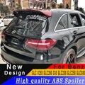 Hohe qualität ABS spoiler jede farbe oder primer Automobil verschönerung spoiler für Benz GLC X253 GLC260 C43 GLC200 GLC250 GLC300
