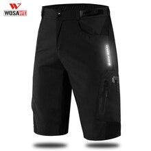 WOSAWE Cycling Shorts Summer Breathable Loose Short MTB Bike Men Running Bicycle Pants Riding