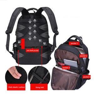 Image 5 - Mężczyźni plecak torby szkolne dla chłopców plecak szkolny mężczyźni torby podróżne tornister torby na ramię dla dzieci bagback czarna torba na laptopa 15.6