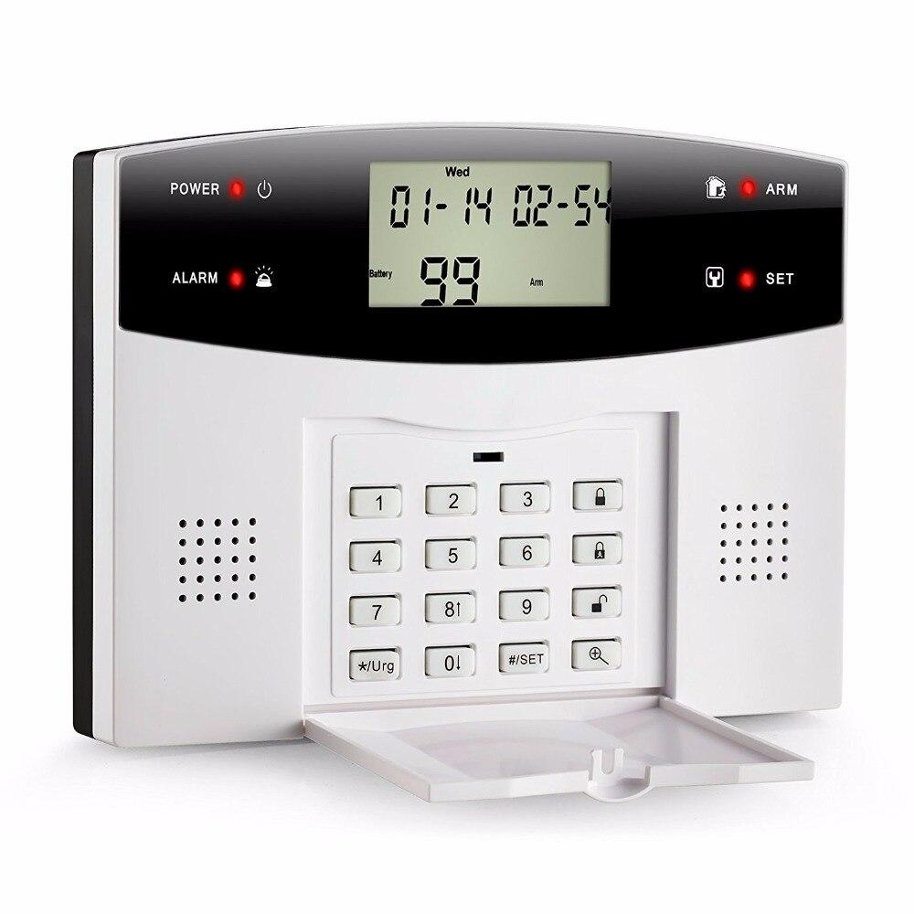 SmartYIBA LCD Display Wireless GSM SMS Burglar Intruder Security Alarm System Russian French Spanish Italian Voice Door Sensor