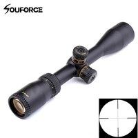 Tactical Rifle Scope 3-9x40 Mil Dot Siatka Pole widzenia 34.1-12.6 ft, Odporna Na Wstrząsy Luneta Polowania Optyczne