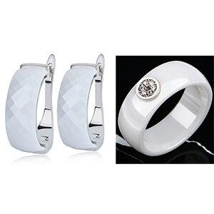 Big Width Ceramic Earrings...