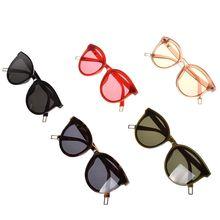 Новинка Han edition, большие женские солнцезащитные очки кошачий глаз, модные большие очки, Ретро стиль, Винтажные Солнцезащитные очки, водительские очки, дропшиппинг