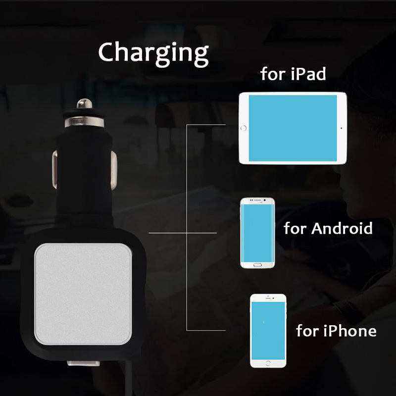Car Retractable Charger 1