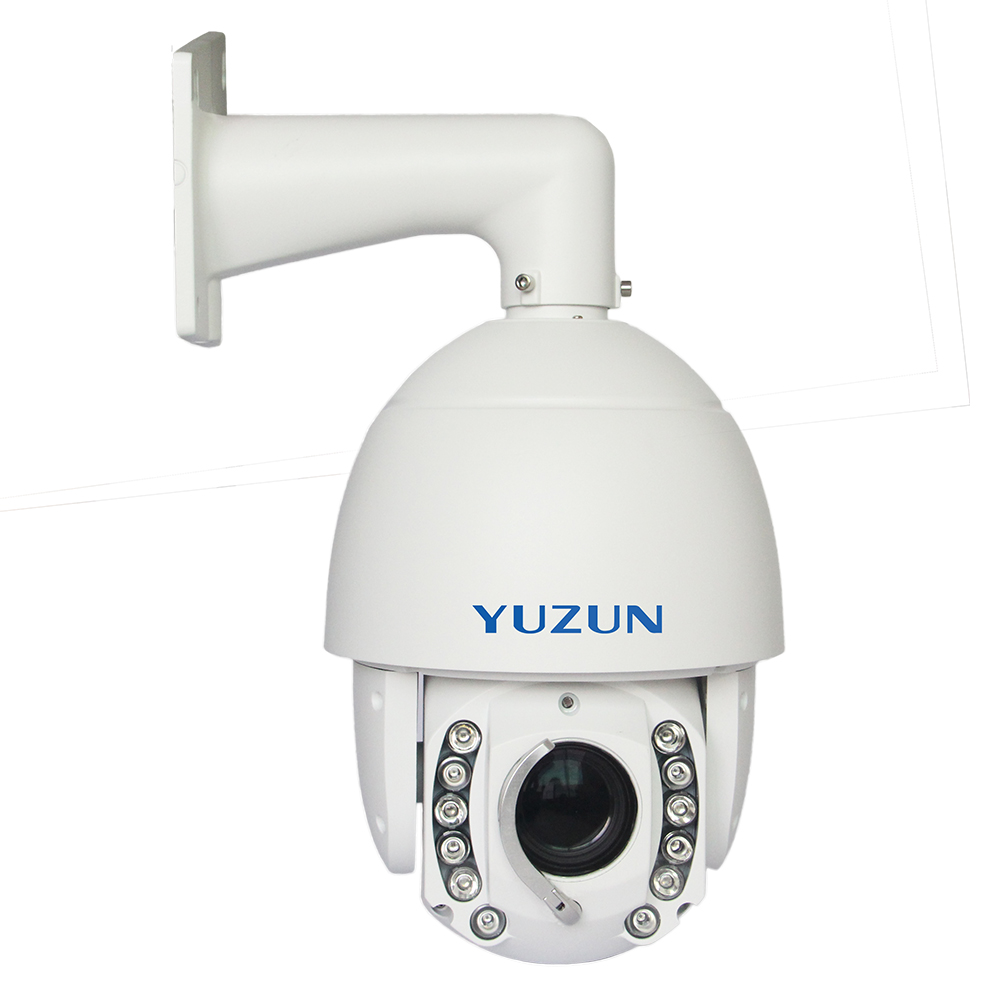 12MP 22x150 m IR distance 4 k ultra hd vidéo caméra ip cctv avec caméra dôme de vitesse d'essuie-glace
