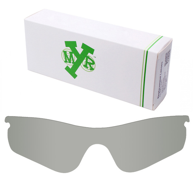 05fe60a6b9ac3 Mryok POLARIZADA Lentes de Reposição para óculos Oakley Photochromic  RadarLock Caminho Óculos de Sol Cinza