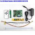 HDMI VGA 2AV Аудио Видео Контроллер Доска + Инвертор + Lvds Кабель + пульт дистанционного управления для B154EW04 VB V2 V8 1280x800 канал 6 бит ЖК-ДИСПЛЕЙ панели