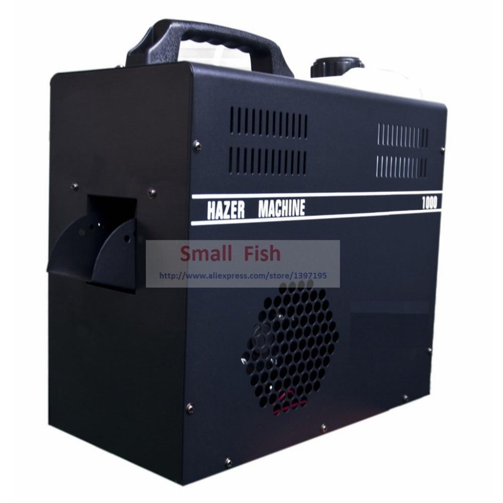 2018 Sales 1000W Professional Mist Haze Machine Stage Equipment Use Haze Oil Special Smoke Hazer Fog Machines For DJ Disco DMX жидкость для генераторов эффектов синтез аудио disco fog haze oil 1