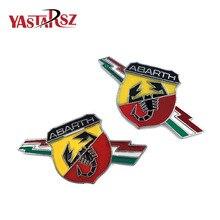 1pcs Classic Shield Shaped Badge Sticker Car Tailgate Rear Emblem for TC Boano Simca Berlinetta Alfa Romeo 698 Car styling