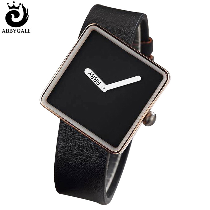 New Creative Minimalist Square Ladies Wrist Watches Women Fashion Dress Quartz-watches Luxury Girl Unique Clock Relogio Feminino time100 unique ceramic women s watches three dimensional hummingbird pattern ladies quartz watches relogio feminino clock
