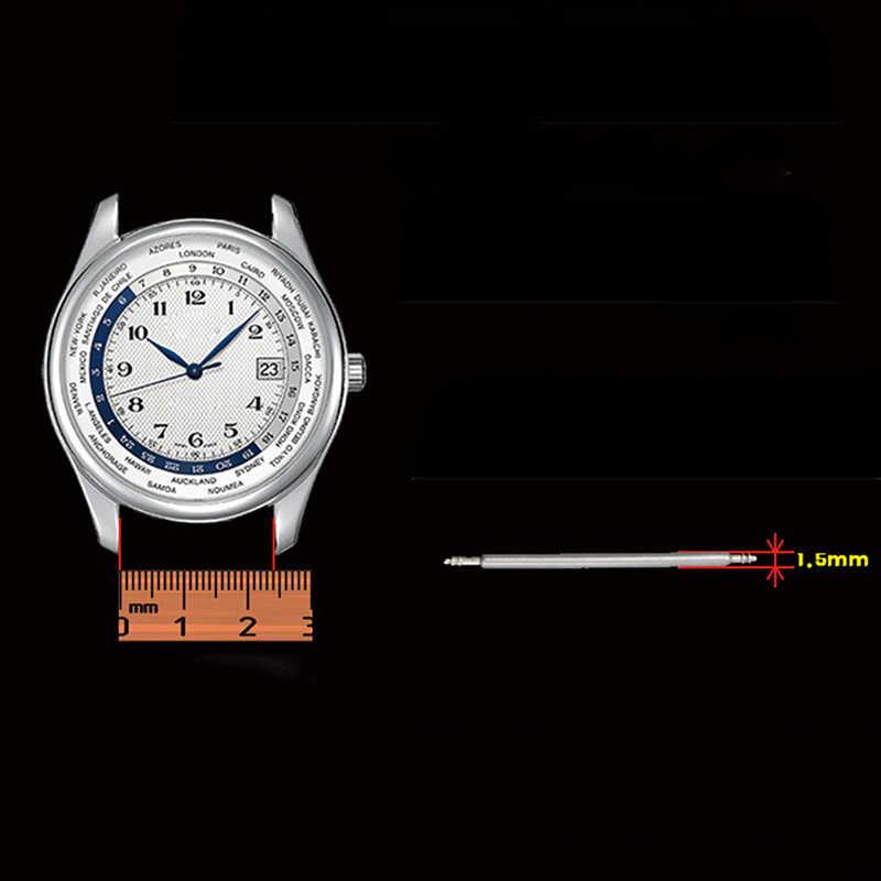 20 個径 1.5 ミリメートル時計バンドリンクステンレス鋼春ピンバー修理ストラップ部品ピン時計屋 20 ミリメートル 22 ミリメートル 24 ミリメートル 18 ミリメートル