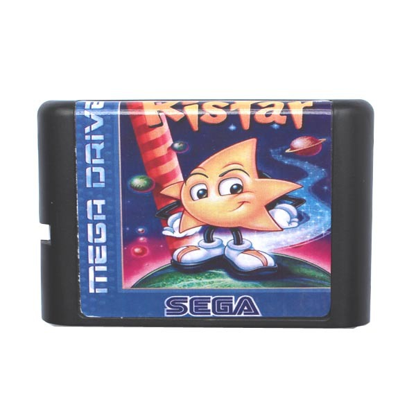 Ristar 16 bit MD Game Card For Sega Mega Drive For Genesis