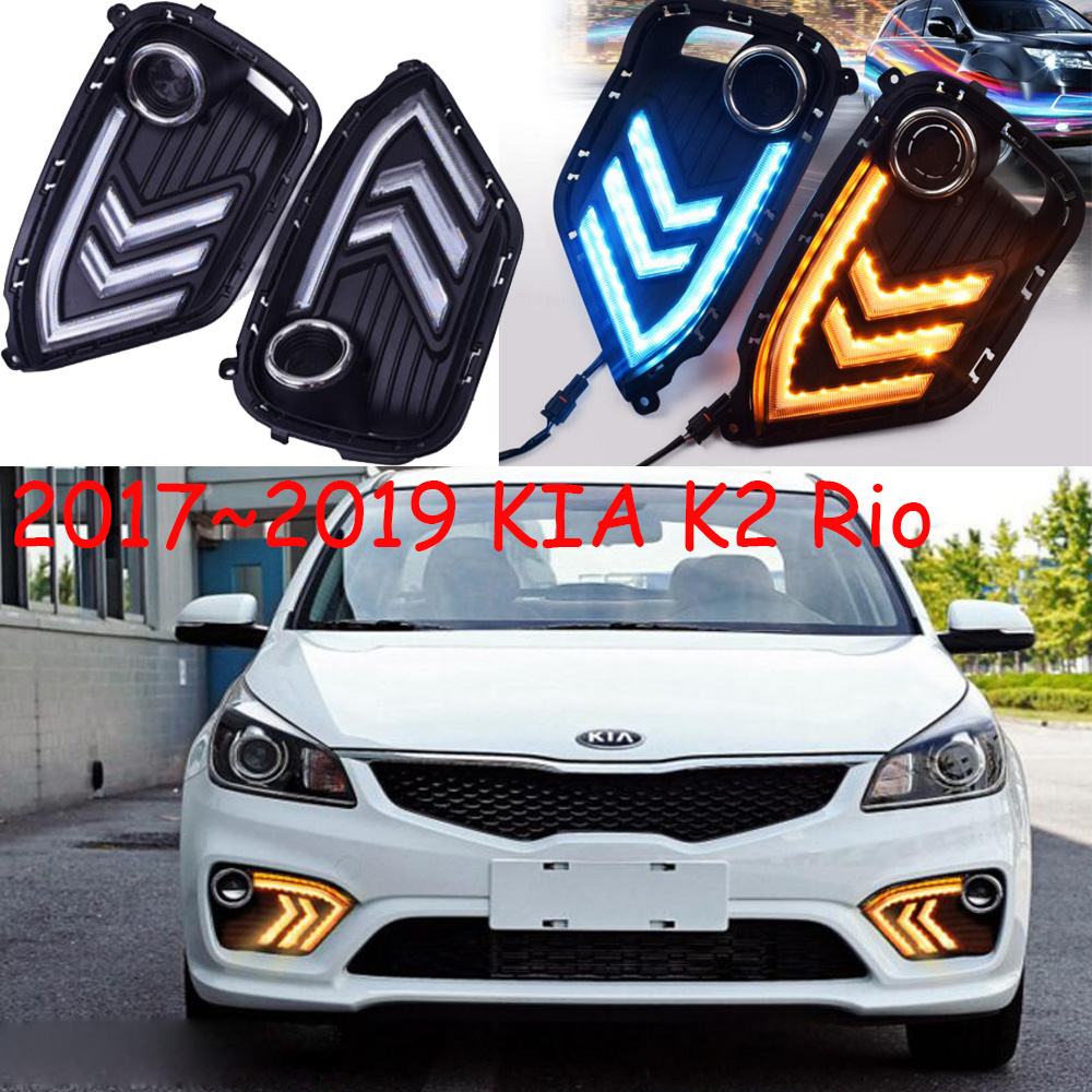 цена на Video play,2017 2018 KlA K2 day Lamp,LED,car accessories,K2 fog light,motorcycle,K2 headlamp;soul,k5,sorento,kx5,Sportage
