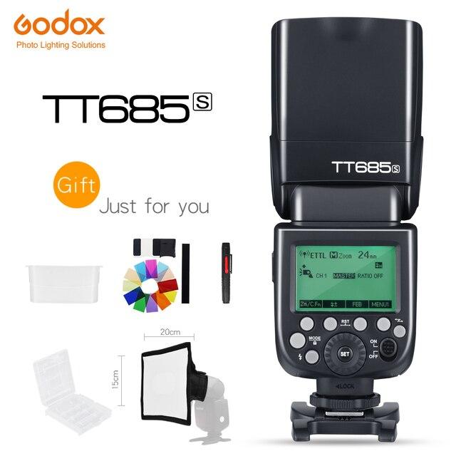 Godox Thinklite TT685S TTL HSS lampa błyskowa High Speed 1/8000 s GN60 dla Sony lustrzanki cyfrowe a77II a7RII a7R a58 a99