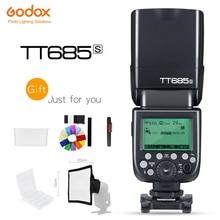 Godox flash câmera de alta velocidade 1/8000s gn60, para câmeras dslr sony a77ii a7rii a7r a58 a99