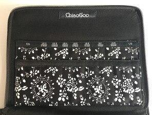 Image 3 - Estojo de agulha para cosméticos, bolsa intercalável com estampa de agulhas para armazenar pincel de maquiagem, tricô e maquiagem, 25.3cm * 15.3cm