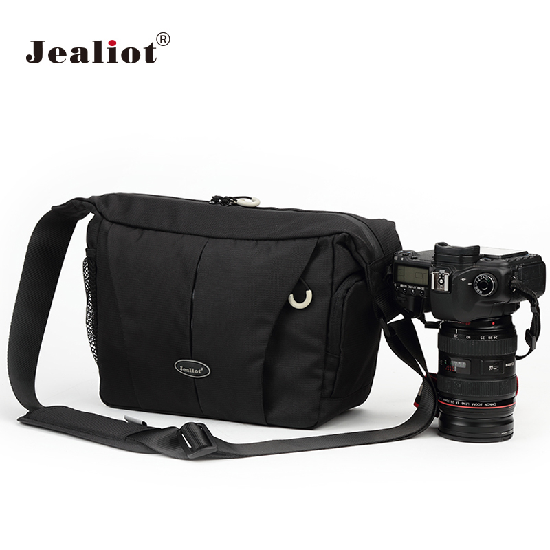 Jealiot Multifunctional Professional Camera shoulder Bag waterproof shockproof big digital Video Photo Bag case for DSLR Canon jealiot multifunctional professional camera shoulder bag waterproof shockproof big digital video photo bag case for dslr canon