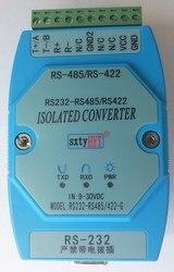 Izolowany aktywny konwerter RS232 na RS485 RS422 232 do 485 przemysłowa szyna odgromowa