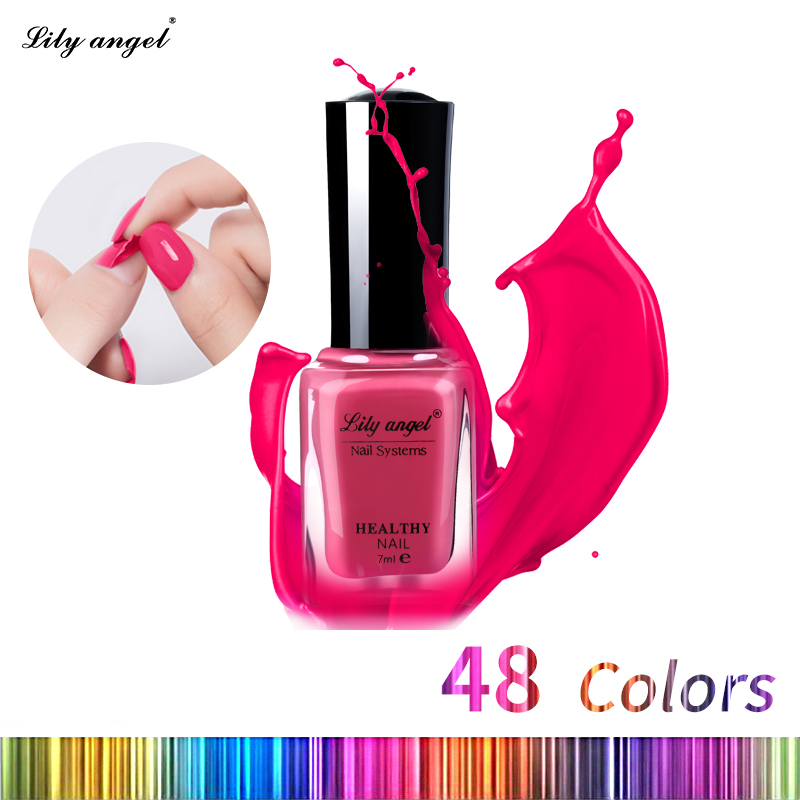 Lily angel 7ml Smalto per acqua colorato per unghie Gel Paint Peel off Water Based Nails Art Glue Quick Drying Beauty Tools