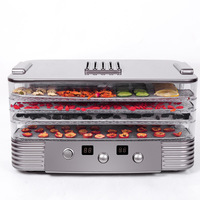Home Portable 4 Layers Multifunction Fruit Vegetable Herb Meat Dryer 250W Eco Friendly ABS Food Dryer