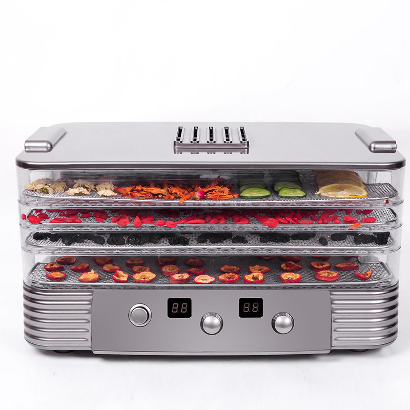 Home Portable 4 Layers Multifunction Fruit Vegetable Herb Meat Dryer  250W Eco-friendly ABS Food Dryer Fruit Dehydrator bp 4 home garden eco logic