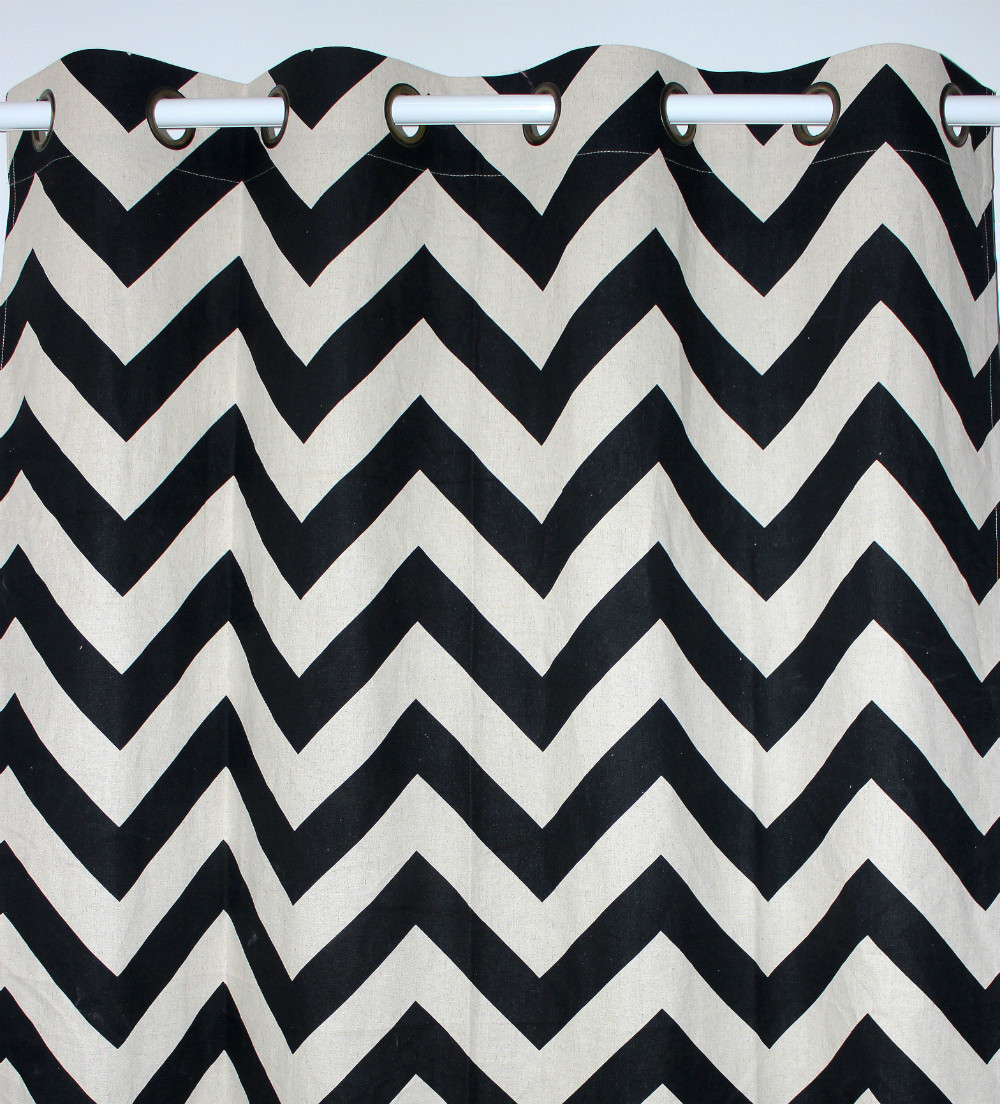 Online kopen Wholesale chevron gordijnen panelen uit China chevron ...