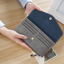Women's Matte Leather Wallet
