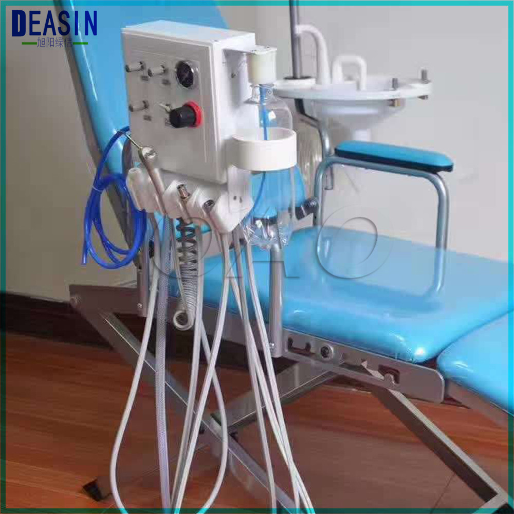 Dental Lab 3 Way Straw Wall Type Hanging Portable Weak Suction Two Turbine Unit Need Work Air Compressor
