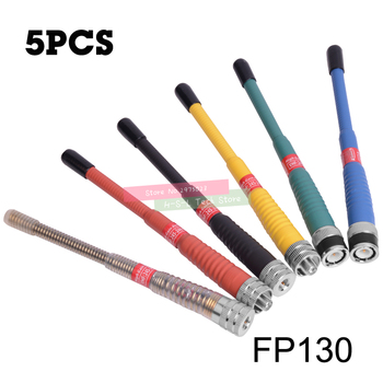 5PCS Dual Band 136-174&400-520MHz Walkie Talkie Antenna For Icom Vertex Baofeng UV-5R BF-888S UV-8D SMA-F Two Way Radio Antenna baofeng uv 5r walkie talkie gain antenna dual band portable 5cm short radio antenna sma f for baofeng uv 5r bf 888s uv 82 telsiz