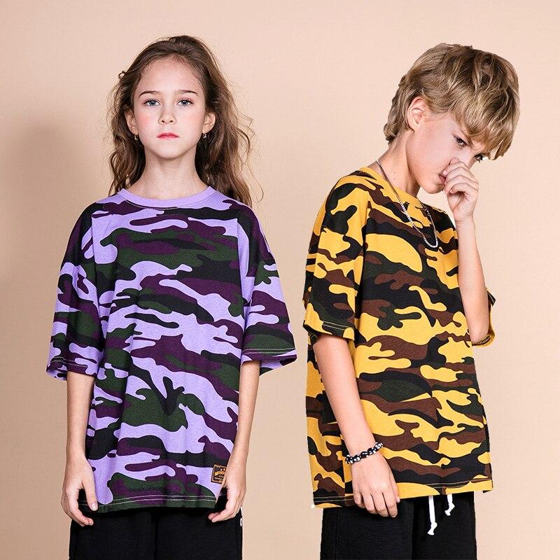 2019 Kids/' Boys Girls Comfortable mesh Long-sleeved T-shirt 4 Color 2-13Y TOP