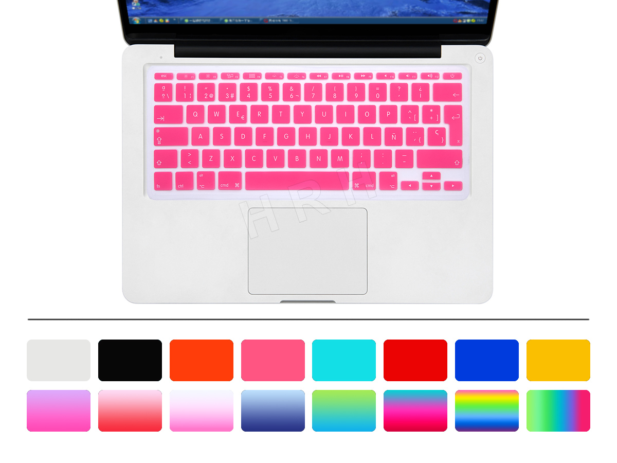 HRH Uni-kleur Waterdicht ultradunne Spaanse Siliconen Toetsenbord - Notebook accessoires - Foto 4