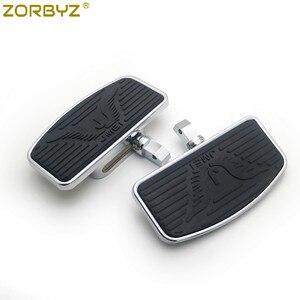 Image 1 - ZORBYZ motosiklet ayarlanabilir döşeme ayaklıklar Footrest Pad Honda VTX1300 VTX1800 Suzuki VL400 C50