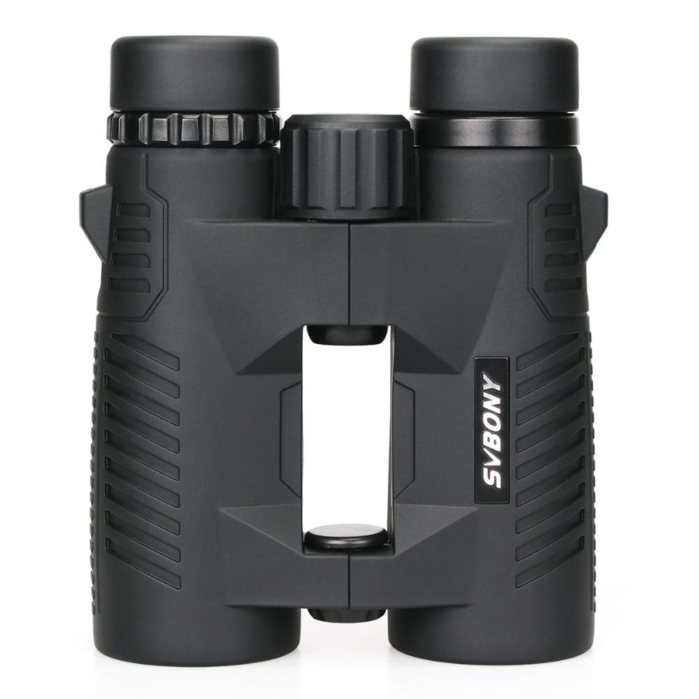 SVBONY 8x42 BAK4 Prism Binoculars Fully Multi-coated Waterproof Compact HD Professional High Power Telescope Hunting F9332 цена