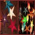 2017 НОВЫЙ 30 см/45 см звезды светодиодные светящиеся Наклейки brithdays Декор Наклейка свет для Спальни DIY Стикер Дети игрушки для brithdays Подарки