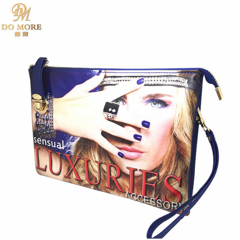 c8ed32615fa1 New vintage woman fashion handbags brand designer PU leather day clutches  women zipper tote bag