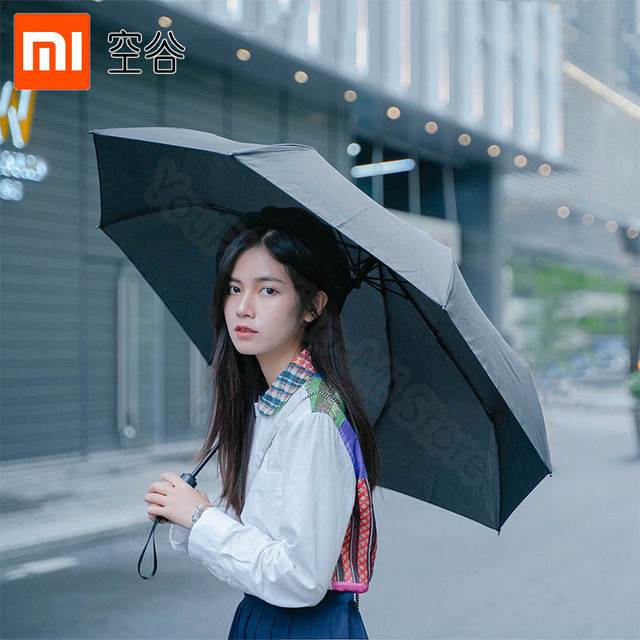 Xiaomi Folding automatic umbrella WD1 23 inches Strong windproof No film sunscreen waterproof Anti UV Sun umbrella
