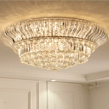 High quality crystal ceiling lamp modern living room creative Jane European bedroom restaurant Ceiling Lights