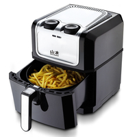 WUXEY New Deep Air Fryer No Oil Smoke Third Generation Electric Fryer High Capacity Intelligent Healthy