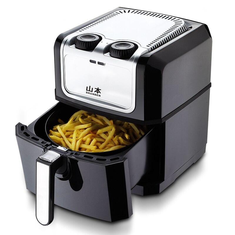 WUXEY nouvelle friteuse à Air profond sans fumée d'huile troisième génération friteuse électrique haute capacité intelligente frites saines Machine