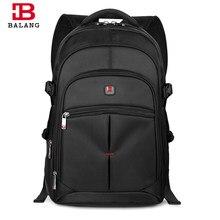 973b5a93d4d8 BALANG для мужчин рюкзак для ноутбука непромокаемые путешествия бизнес  компьютер Модные мужские школьные рюкзаки для подростков