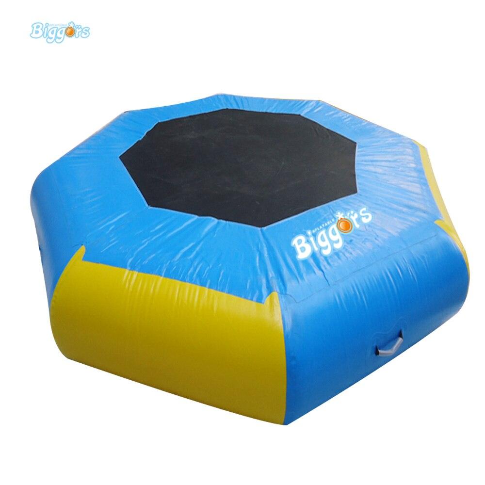 Trampoline sautant gonflable de Trampoline de l'eau d'équipement de parc aquatique pour des enfants