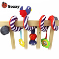 Sozzy Baby Toy Crib Car Bed Seat Spiral Hanging Toy Hanging Decoration Ring Bell Baby Rattle Educational