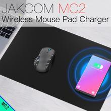 JAKCOM MC2 Mouse Pad Sem Fio Carregador venda Quente em Carregadores como opus liitokala lii 500 chargeur pilha recarregável