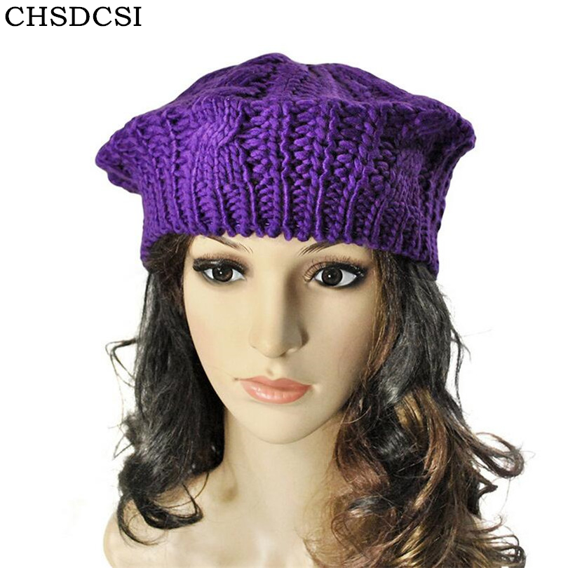 CHSDCSI Super Warm Vintage Cap Winter Women Beret French Artist Casual Beanie Hat For Sweet Girl Gift Spring And Autumn Hats women artist beret cap french style autumn