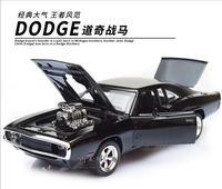 Zo Cool! De Snelle En De Furious Dodge Charger Lichtmetalen Cars Modellen Kids Speelgoed Groothandel Vier Kleur Metalen Klassieke Cars