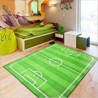 Children Football Field Gate Carpet World Cup Stadium Carpets Living Room Superstar Salono Parlor Rug Bedroom