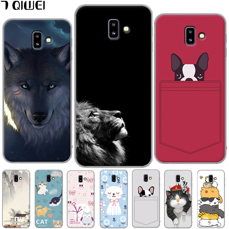 For Samsung Galaxy J6 Plus Case Silicone Soft TPU Cover For Samsung Galaxy J6 Plus 2018 J610F J610 SM-J610F J6Plus J 6 + Case