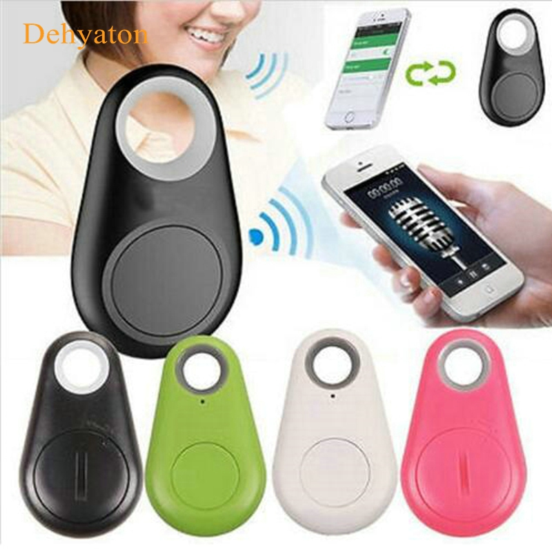 Dehyaton Mini smart bluetooth tracker Child Bag Wallet Key Finder GPS Locator Alarm Wireless tracer Anti Lost reminder for pet